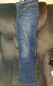 Pair of womans levi jeans